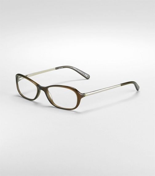 Optical Frame With Rounded Cateye Detail