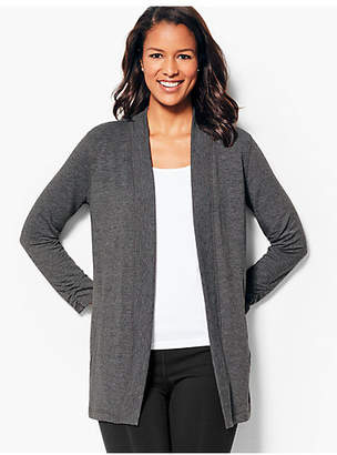 Talbots French Terry Cardigan