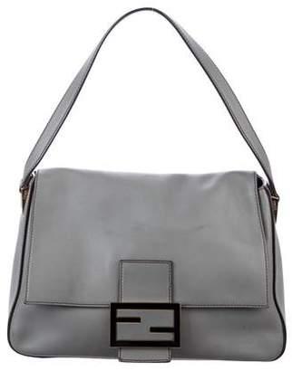 Fendi Smooth Leather Flap Bag