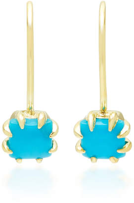 At Moda Operandi Ila Zephyr 14k Gold Turquoise Earrings