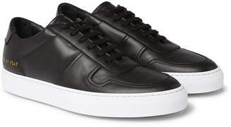Common Projects BBall Leather Sneakers - Men - Black