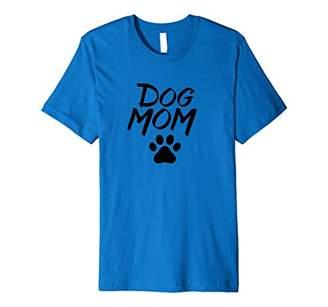 Dog Mom Paw Print Premium T-Shirt