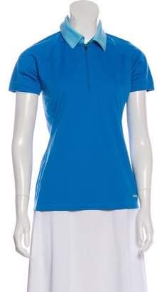 Patagonia Zip-UP Short Sleeve Top