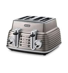 De'Longhi Delonghi Ctz4003Bg Scultura 4 Slice Toaster Beige