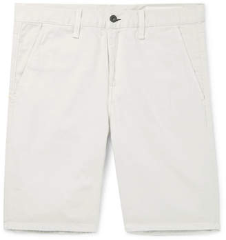 Rag & Bone Standard Issue Cotton-Twill Shorts - Beige