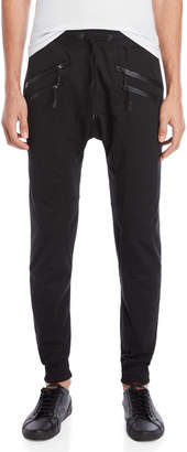 American Stitch Double Zipper Joggers