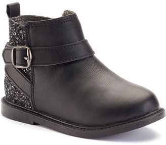 Carter's® Toddler Girls' Glittery Ankle Boots $44.99 thestylecure.com