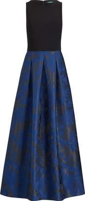 Ralph Lauren Pleated Sleeveless Dress