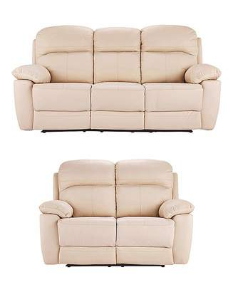 Inspirational at Fashion World · Fashion World Roma Leather 3 plus 2 Seater Recliner Review - Best of most comfortable chair in the world Review