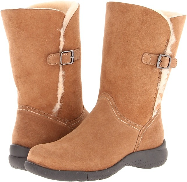 La Canadienne Tremblant (Tan Suede/Shearling) - Footwear