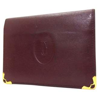 Cartier Leather portefeuille