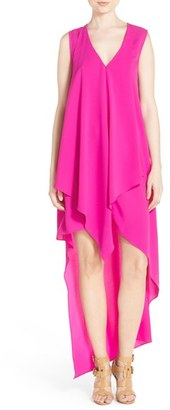 Women's Adelyn Rae Ruffle High/low Dress $88 thestylecure.com