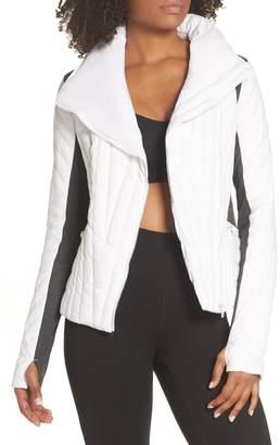 Blanc Noir Motion Panel Down Puffer Jacket