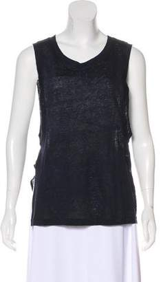 A.O.T.C. Linen Oversize Sleeveless Top w/ Tags