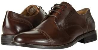Nunn Bush Sparta Cap Toe Dress Casual Oxford Men's Lace Up Cap Toe Shoes