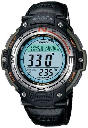 Casio Men's Digital Compass Twin Sensor Nylon Band Watch