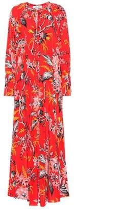 Diane von Furstenberg Bethany floral-printed silk dress