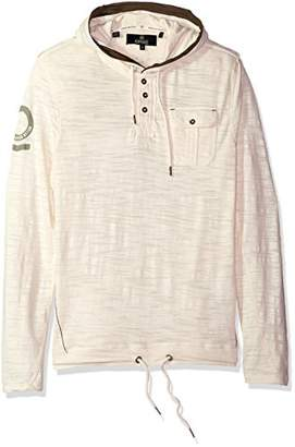Buffalo David Bitton Men's Kifaro Long Sleeve Henley Fashion Knit Shirt