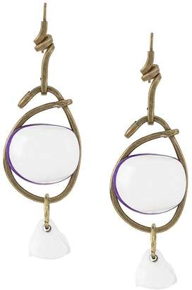 Marni stacked earrings