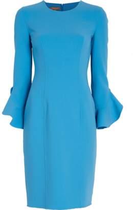 Michael Kors Ruffle Sleeve Sheath Dress