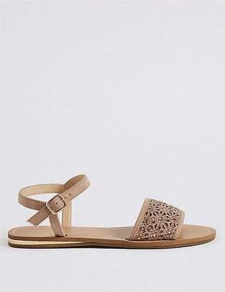 Marks and Spencer Sparkle Laser Cut Sandals