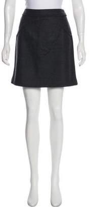 Chanel Wool & Angora Mini Skirt