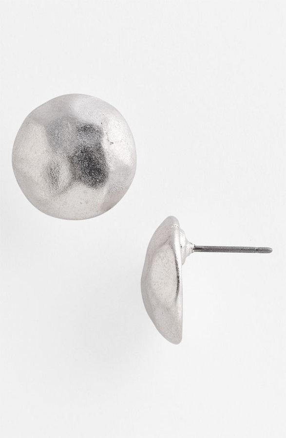 Nordstrom Hammered Disc Stud Earrings