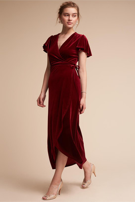 BHLDN Thrive Velvet Dress