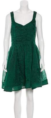 Pre Owned At Therealreal Zac Posen A Line Mini Dress