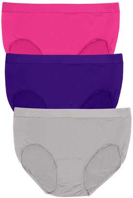 Bali 3 Pair Knit Brief Panty Vb90