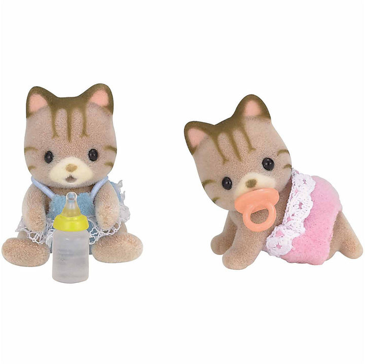 INTERNATIONAL PLAYTHINGS Calico Critters Sandy Cat Twins