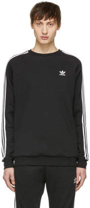 adidas Black 3-Stripes Sweatshirt