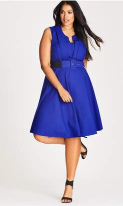 City Chic Pool Vintage Veronica Dress