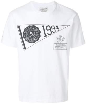 Neighborhood logo print T-shirt