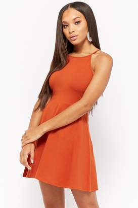 Forever 21 High-Neck Skater Dress