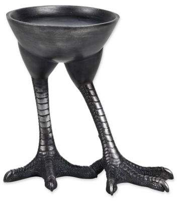 Ren-Wil Bennett Metal Candle Holder in Black