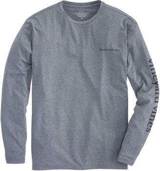 Vineyard Vines Long-Sleeve Heathered Performance Vented Boating T-Shirt