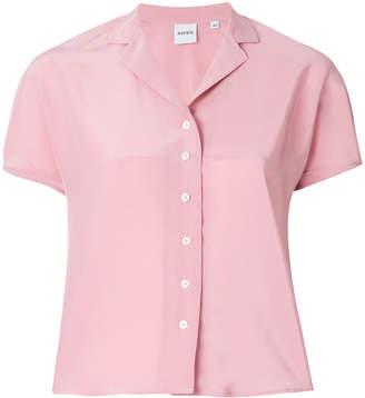Aspesi short sleeve open collar shirt