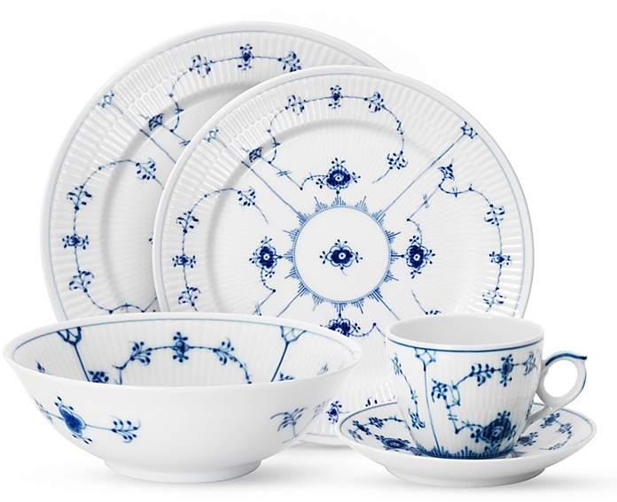 """Royal Copenhagen Blue Fluted Plain"""" Dinner Plate"""