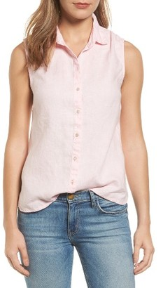 Women's Tommy Bahama Sea Glass Breezer Linen Shirt $98 thestylecure.com