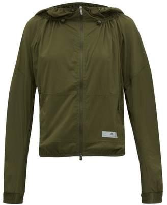 adidas by Stella McCartney Run Light Zip Through Jacket - Womens - Khaki