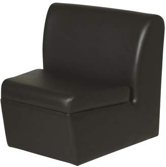 Belvedere Black Newport Sofa Wedge