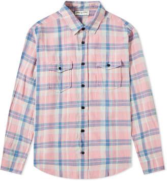 Saint Laurent Pastel Check Shirt