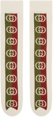 Gucci Off-White Lostongey Socks
