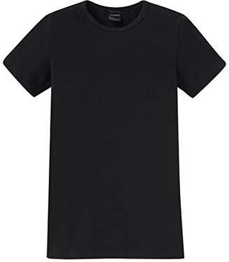 Schiesser Boys' Vest Black Black (000 Black) (Brand size : 8-9Y)
