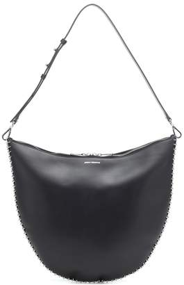 Paco Rabanne Iconic Small leather shoulder bag