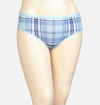 Avenue Plaid Cotton Hipster Panty