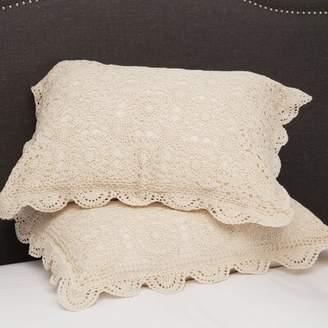Melange Home Handmade Crochet Euro