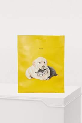 Balenciaga Shopper medium soft leather bag