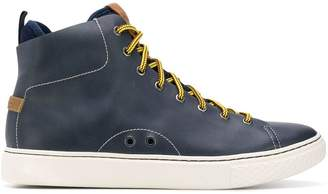 Polo Ralph Lauren contrasting lace sneakers